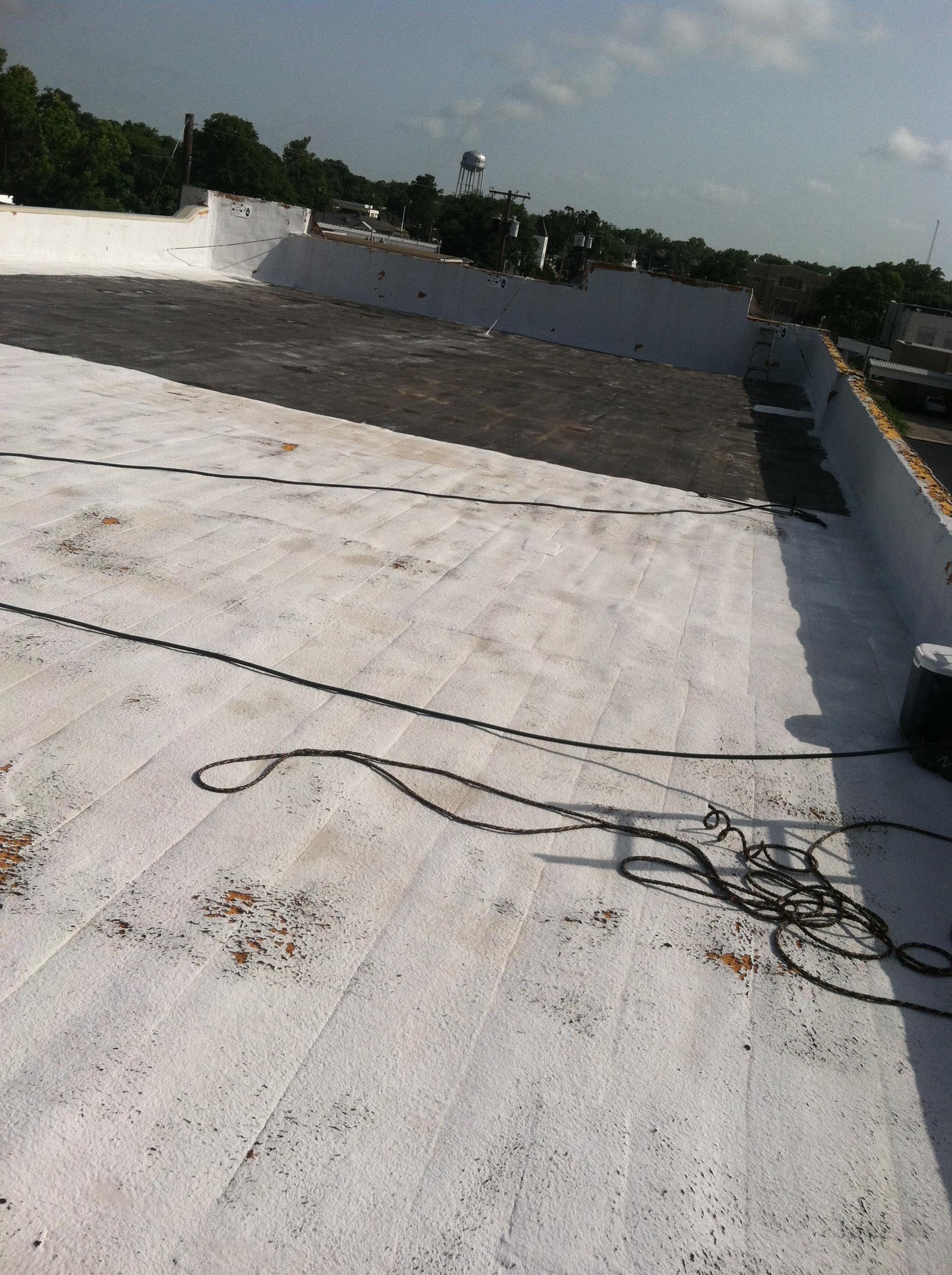 Foam Roof After 20 Years Of Neglect J L Cox Enterprises